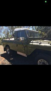 Land Rover series 2a Army Kenmore Brisbane North West Preview
