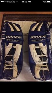 Bauer goalie pads