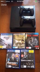 Sony PlayStation 4 with 5 games. Woodberry Maitland Area Preview