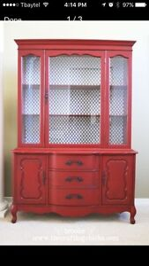 Looking for free dining room hutch