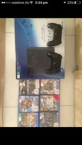 PS4 1TB Plus 6 Games & 2 Controllers Minchinbury Blacktown Area Preview