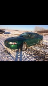 2001 Ford Mustang coupe, in yorkton