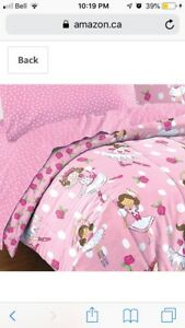 Ballet Twin Bedding Set