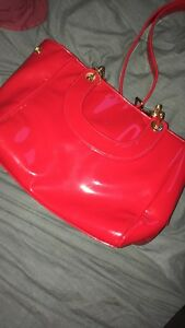 Pink house designer purse rarely used