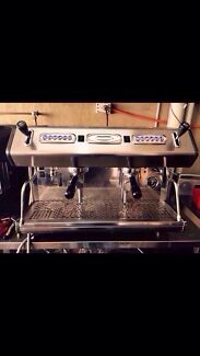 Cheap Second Hand 2 Group 10 Amp High Cup Commercial Coffee machine  Marrickville Marrickville Area Preview