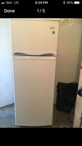 Danby apartment size fridge with freezer