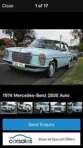 1974 Mercedes-Benz 280 Sedan Bexley Rockdale Area Preview