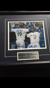 Dual signed Framed Blue Jays- Jose and Edwin