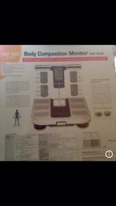 NEW Body Composition Monitor Scales OMRON *CHEAP* Fitzroy North Yarra Area Preview