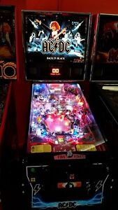 """WANTED "" BACK IN BLACK (LE) PINBALL MACHINE Hindmarsh Charles Sturt Area Preview"