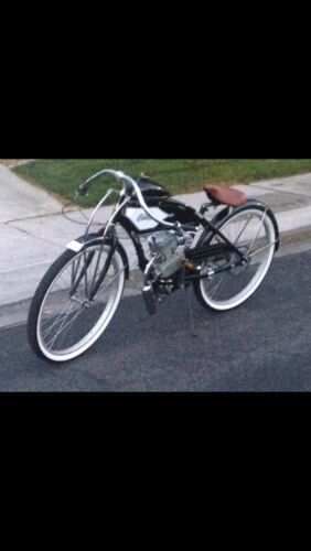 Motorized Bicycle Kit – DIY and Save – One Of A Kind! 1937 Cafe' Racer Tracker