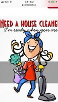 Mature honest house cleaner available immediately