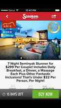 SOLD - 7 nights in Bali- brekkie inc and massage Nairne Mount Barker Area Preview