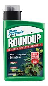 ROUNDUP ULTRA 3000 SUPER CONCENTRATE WEED KILLER 1 LITRE NEW FORMULA