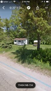 Camp and 1.1 acre lot fundy
