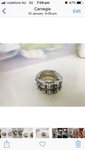 7fdf2a065c94 Chrome Hearts ring ORIGINAL