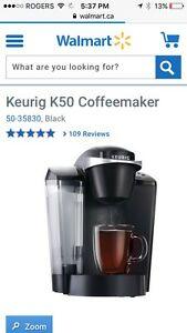 Keurig Coffee Maker ($140 new)