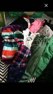 Lot of name brand ladies/teen clothes
