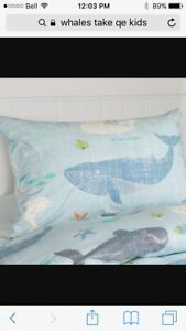 Whale's Tale duvet cover for double bed