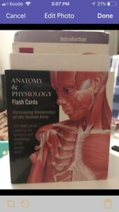 Anatomy and Physiology cards