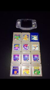 GAMEBOY SP BUNFLE WITH GAMES