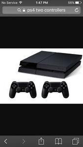 PS4 500g 2 controllers + 5 games