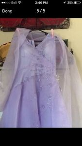 Lilac Graduation Gown