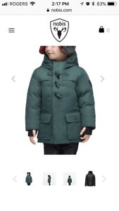 NEW NOBIS kids duck down jacket