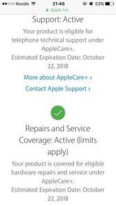 10/10 Mint Condition 16gb iPhone SE With Apple Care Plus+ Edmonton Edmonton Area image 2