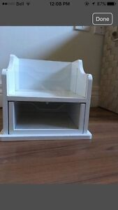 Sectional Desk Organizer With Drawer