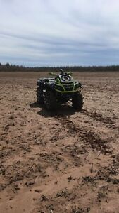 2015 CAN am outlander 1000 xmr