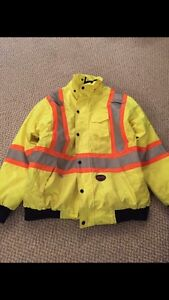 Men's pioneer 3 in 1 high visibility jacket