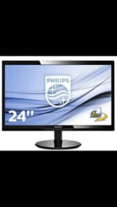 Philips monitor / ecran philips HD 24""