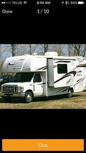 WANTING TO RENT SMALL MOTORHOME
