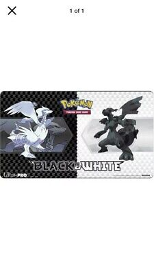 Pokemon Black and White Gen v5 Playmat Ultra Pro GAMING SUPPLY BRAND NEW