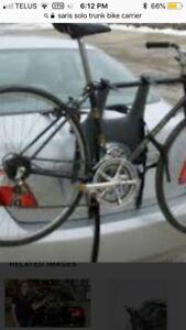 Solo bike rack