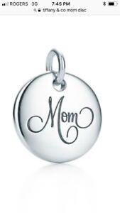I NEED this I WANT this BAD! Tiffany & co Mom pendant charm