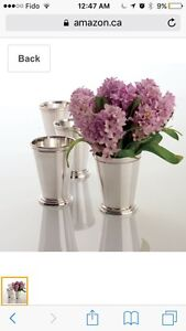 Moving Sale-Brand new mint julep cups gift box