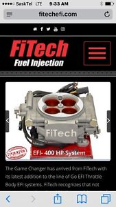 Fitech go street 400 hp and command center