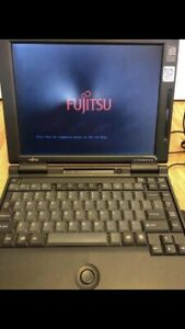 Vintage Fujitsu Lifebook - 166mhz Pentium MMX Windows 95 and DOS