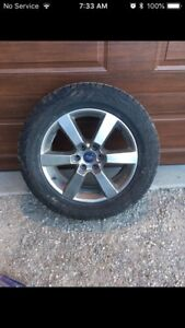 275-55/R20 Hancook dynapro snowflake rated tires brand new