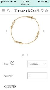 18k Tiffany and Co. bracelet