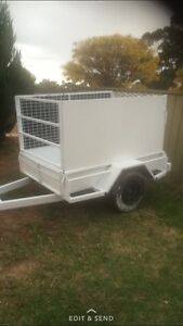 6x4 cage trailer with load ramp Adelaide CBD Adelaide City Preview