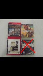 JEUX DE PS3 A VENDRE/ PS3 GAMES TO SELL