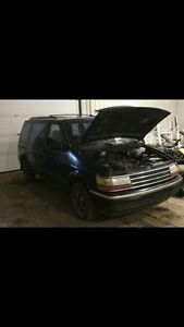 Plymouth voyager for parts or fix