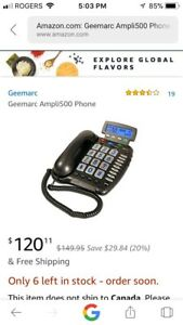Phone for the hearing impaired