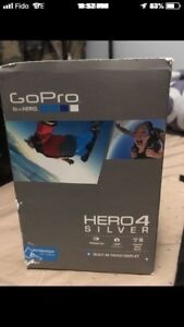 I'm selling go pro hero 4 used 1 time for sale