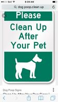 Dog Poo Removal