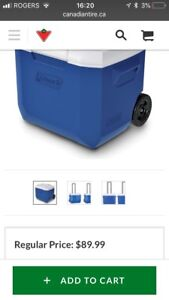 60qt cooler with wheels