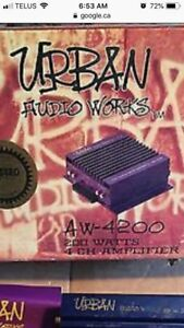 Looking for old urban audio works gear
